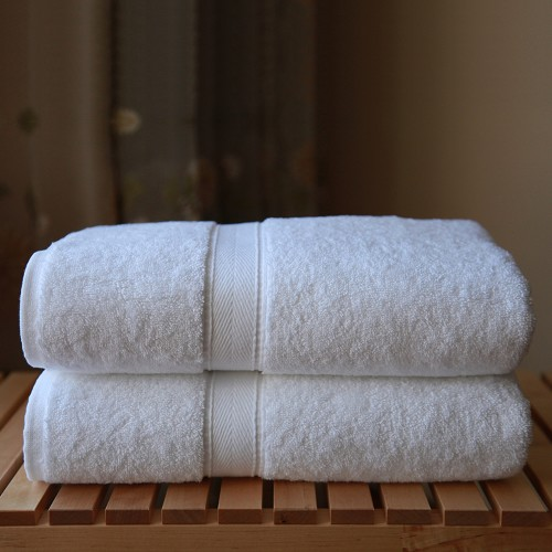 Luxury Hotel & Spa Terry Collection Two Piece Bath Towel Set