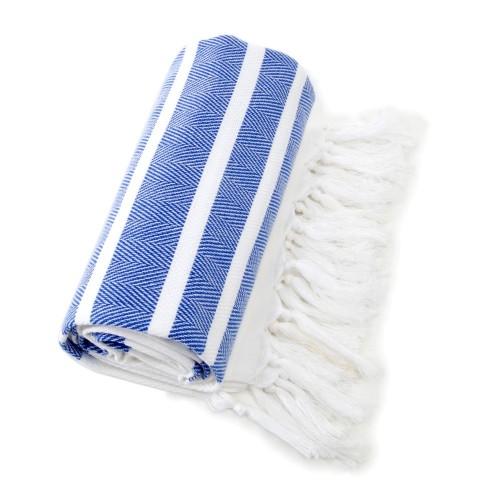 Herringbone Pestemal - Royal Blue