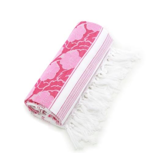 Flowers for all Pestemal - Pink & White