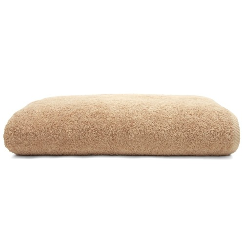 Soft Twist One-Piece Bath Sheet Set - Warm Sand