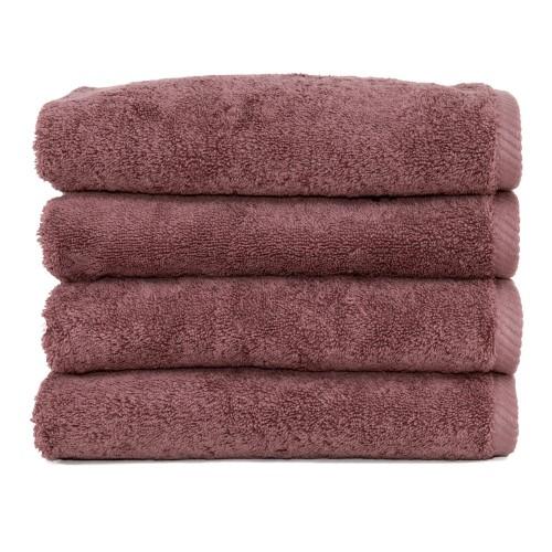 Soft Twist Four-Piece Hand Towel Set - Sugar Plum