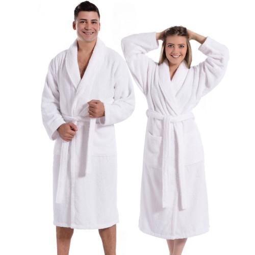 Plush Unisex Bath Robe