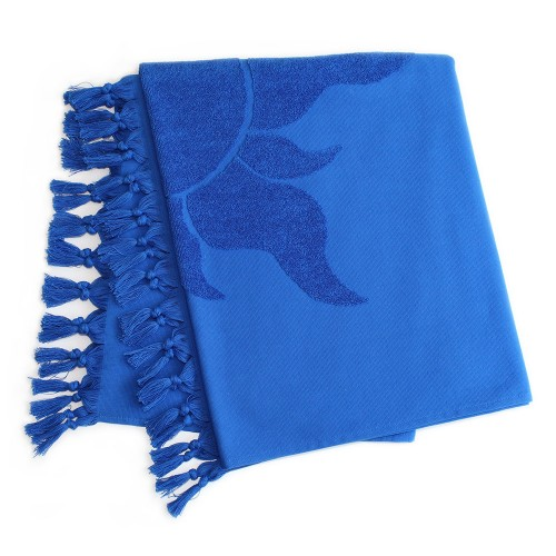 Tuscany Pestemal Towel - Royal Blue