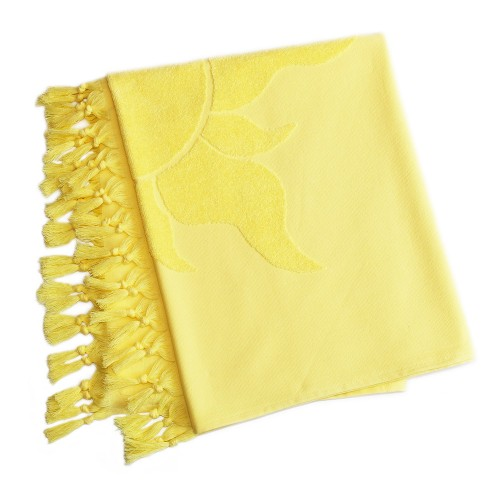 Tuscany Pestemal Towel - Canary Yellow