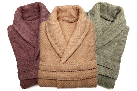 Herringbone Bathrobes